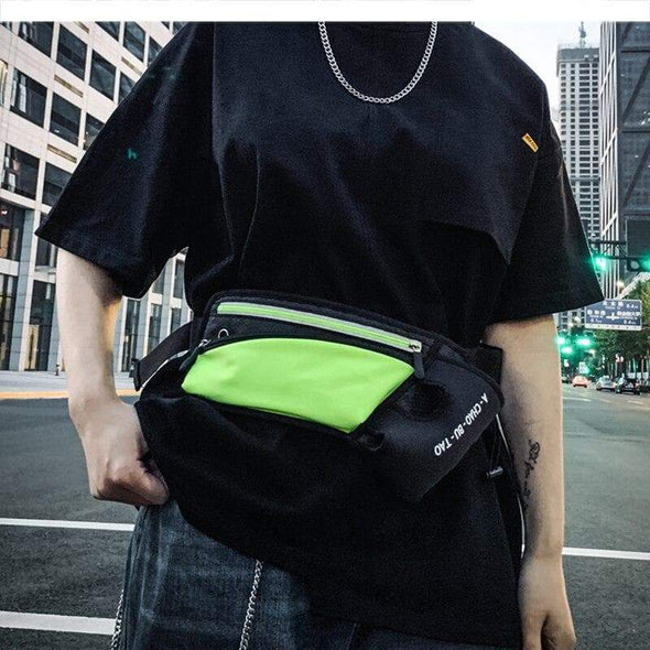 "AE "" Reflective Tape"" Waist pack"