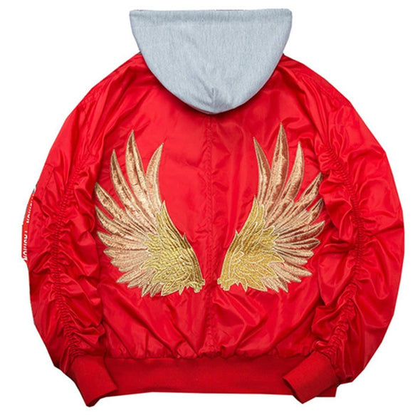 "AE  "" Wings"" Embroidery Jacket"