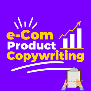 e-Com Product Copywriting