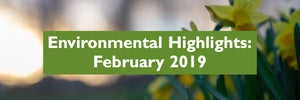 February 2019 - Environmental Highlights