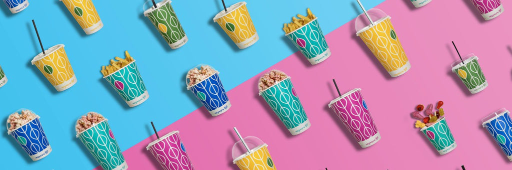 Vibrant Paper Cups That'll Accentuate Your Brand