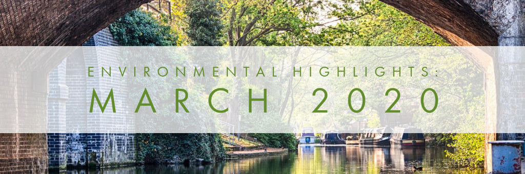 March 2020 - Environmental Highlights