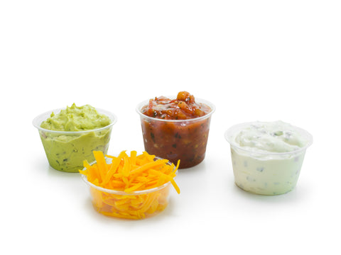 Compostable Portion Dipping Pots