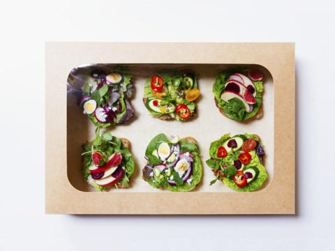 Food packaging for home delivery