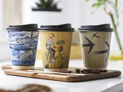 100% Compostable Single & Double Walled Coffee Cups