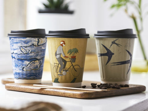 Eco-friendly Compostable Coffee Cups, Lids and Accessories