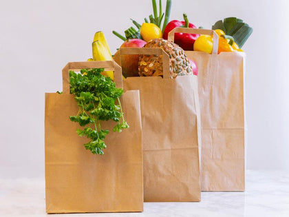 Eco-friendly Compostable Paper Carrier Bags