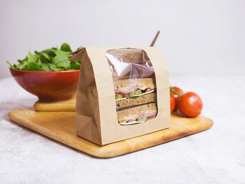 Compostable Sandwich Packaging