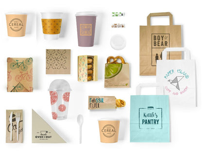 Compostable Custom Print Packaging