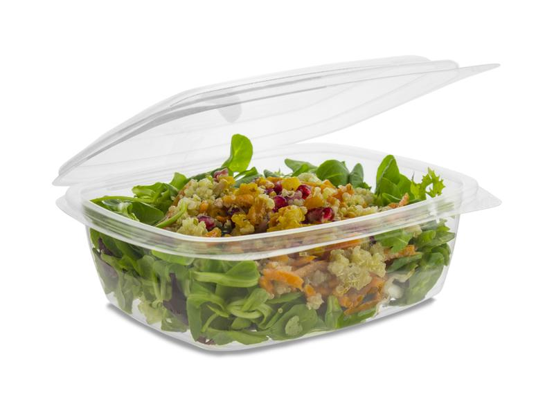Compostable PLA Deli & Salad Containers - Green Man Packaging