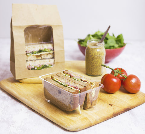 Biodegradable Sandwich Bag With Window