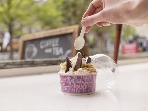 Biodegradable Ice Cream Spoons