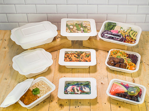 Compostable Gourmet Containers