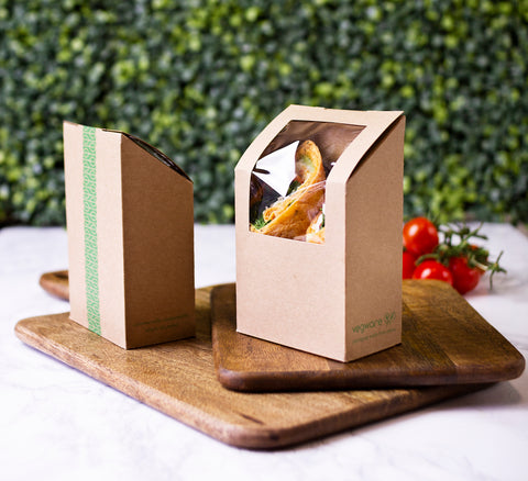 Biodegradable Tortilla Wrap Box