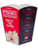 Eco-friendly Biodegradable Custom Printed Compostable Popcorn Boxes