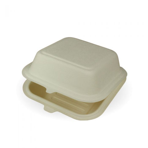 Compostable BioCane Burger Box