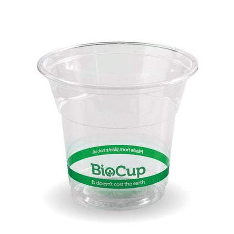 Compostable BioCup Slim PLA Cold Drinks Cups - 5oz