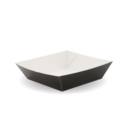 Compostable Burger Tray - Black