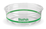 Compostable Clear PLA BioBowl - 240ml