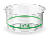 Compostable Clear PLA BioBowl - 360ml