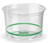 Compostable Clear PLA BioBowl - 500ml