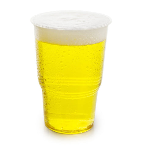 Compostable Clear PLA CE Marked Cups - Half Pint