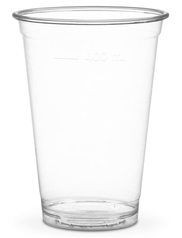 Compostable Clear Standard PLA Cold Drinks Cups - 16oz