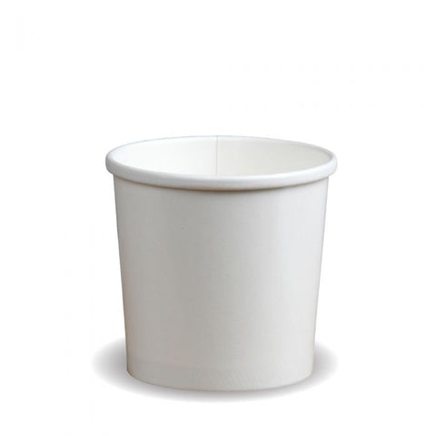Compostable Heavy Duty Soup / Ice Cream Container 12oz