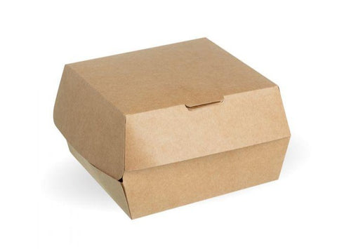 Compostable Kraft Burger Box