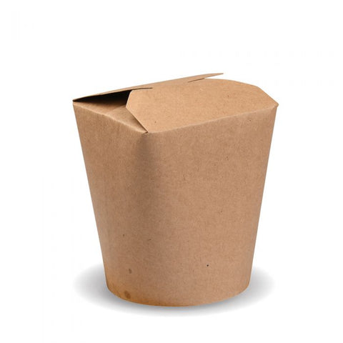 Compostable Kraft Noodle Box - 26oz