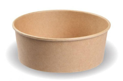 Compostable Kraft Salad Bowl - 750ml