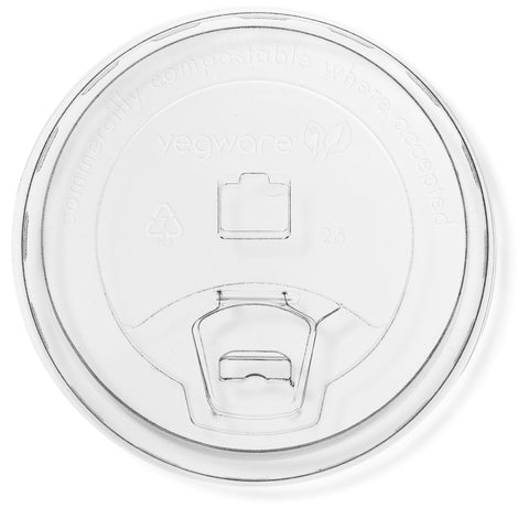 Compostable PLA Sipping Lid