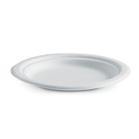 Compostable Round BioCane Plate - 7in