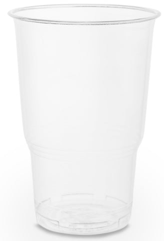 Clear PLA CE Marked Cups - 1/2 Pint