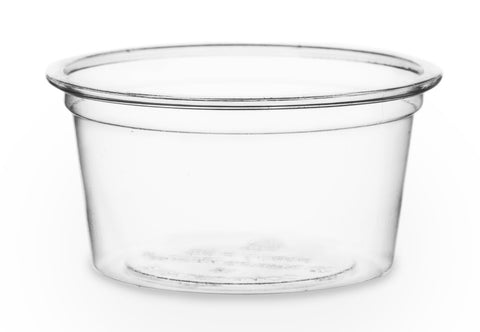 Compostable Clear Portion Pot - 0.5oz