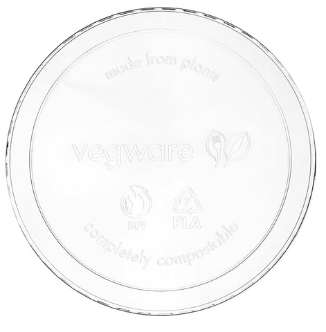 Compostable Clear Round Deli Container Lid