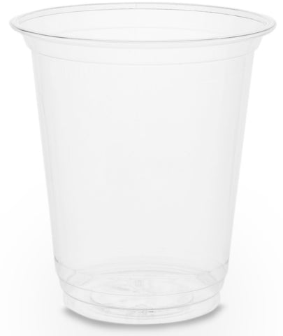 Compostable Clear Slim PLA Biodegradable Cold Drinks Cups - 7oz