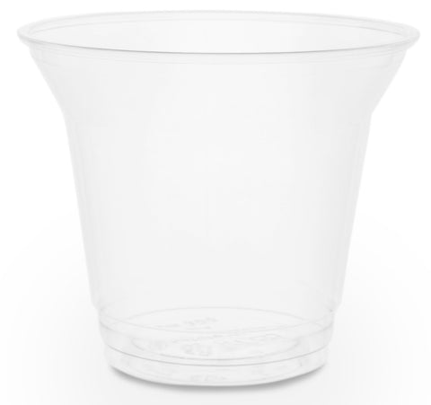 Compostable Clear Standard PLA Biodegradable Cold Drinks Cups - 9oz