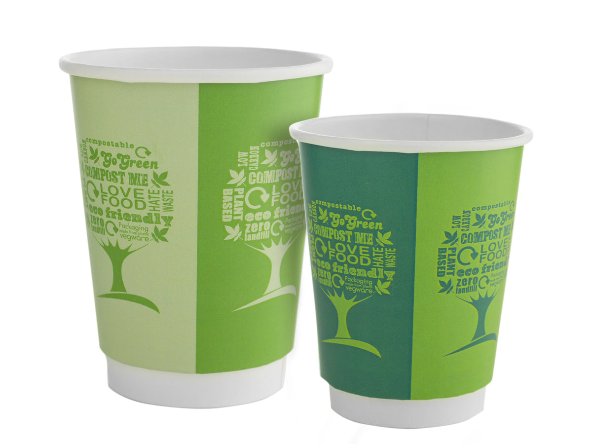 Compostable Coffee Cups   Eco Friendly & Sustainable
