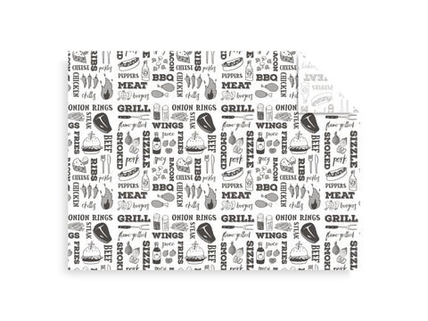 Grill Greaseproof Sheets - 40cm x 30cm