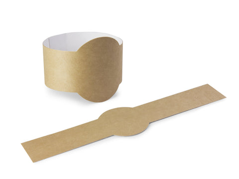 Compostable Kraft Baguette Collar