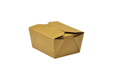 Compostable Kraft Biodegradable Hot Food Carton - 24oz