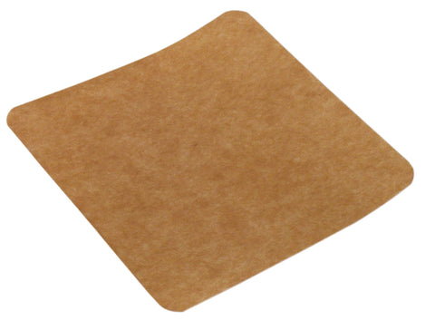 Compostable Kraft Sandwich Card - 5inch x 5inch