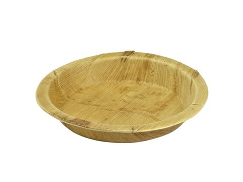Compostable Palm Leaf Round Plate - 8inch