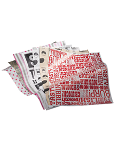 Eco-friendly Custom Printed Compostable Greaseproof Paper