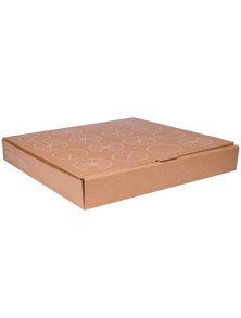 Eco-friendly Custom Printed Compostable Pizza Boxes