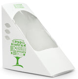 Eco-friendly Compostable Green Tree Sandwich Wedge - Deep Fill