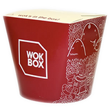 Eco-friendly Custom Printed Compostable Noodle Boxes