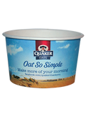 Custom Printed Compostable Soup and Ice Cream Containers