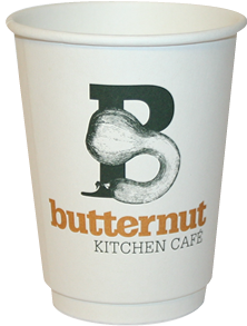 Compostable Custom Printed Double Wall Coffee Cups